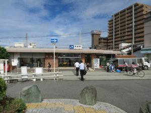 野崎駅工事前