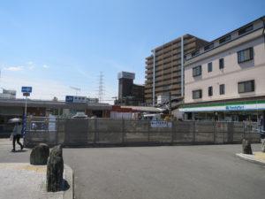 野崎駅工事近影