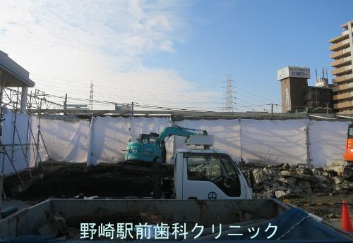11月28日野崎駅東口
