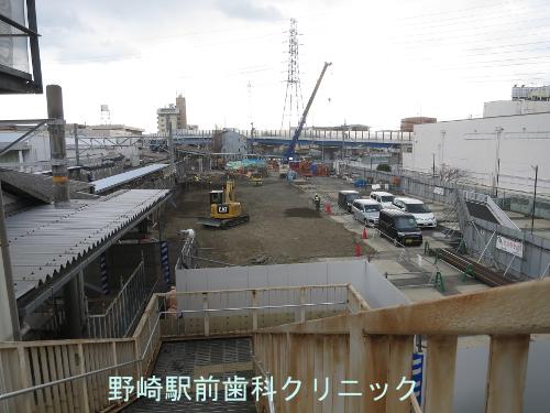 野崎駅駐車場駐車場跡